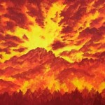 """Wildfire"" – Acrylic on Canvas thumbnail"