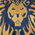 """Glory to the Alliance"" (Commission) – Acrylic on Canvas [SOLD] thumbnail"