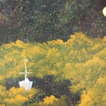 """""""Sailing into Golden Clouds of Sleep"""" – Acrylic on Canvas thumbnail"""