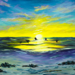 """Siesta Key to Happiness"" – Acrylic on Canvas thumbnail"