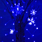 """Winter Tale"" Glow-in-the-Dark Mixed Media thumbnail"